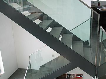 treppe frei gel nder f r au en. Black Bedroom Furniture Sets. Home Design Ideas